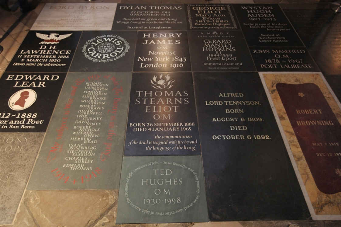 famous commoners buried at westminster abbey